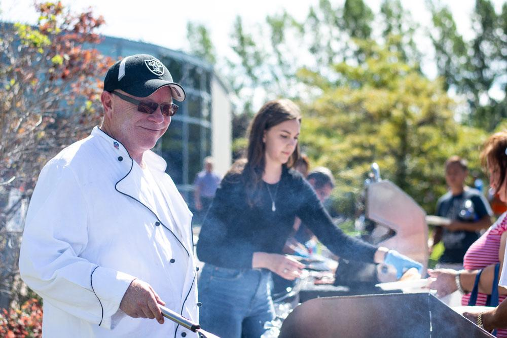 Stanpro's 2018 end-of-summer barbecue