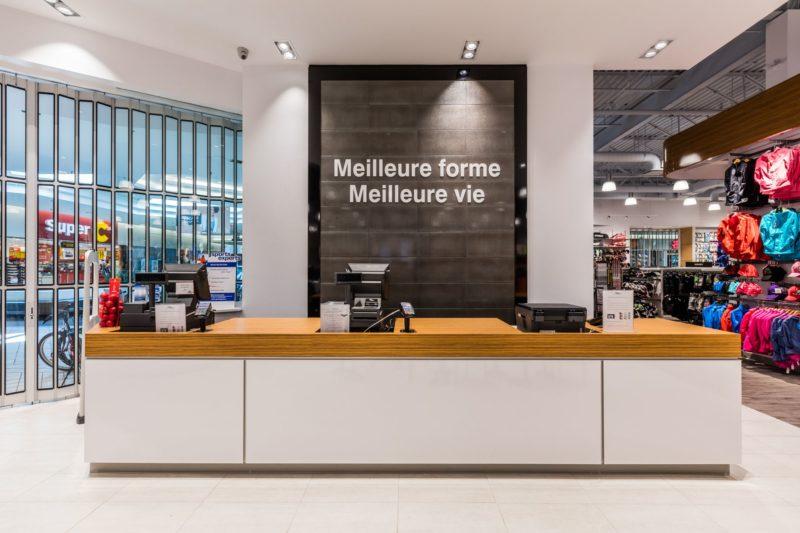 Sports Experts Beloeil retail store