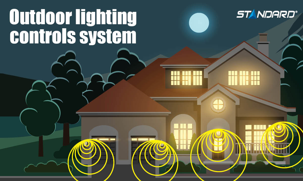 Outdoor lighting control system