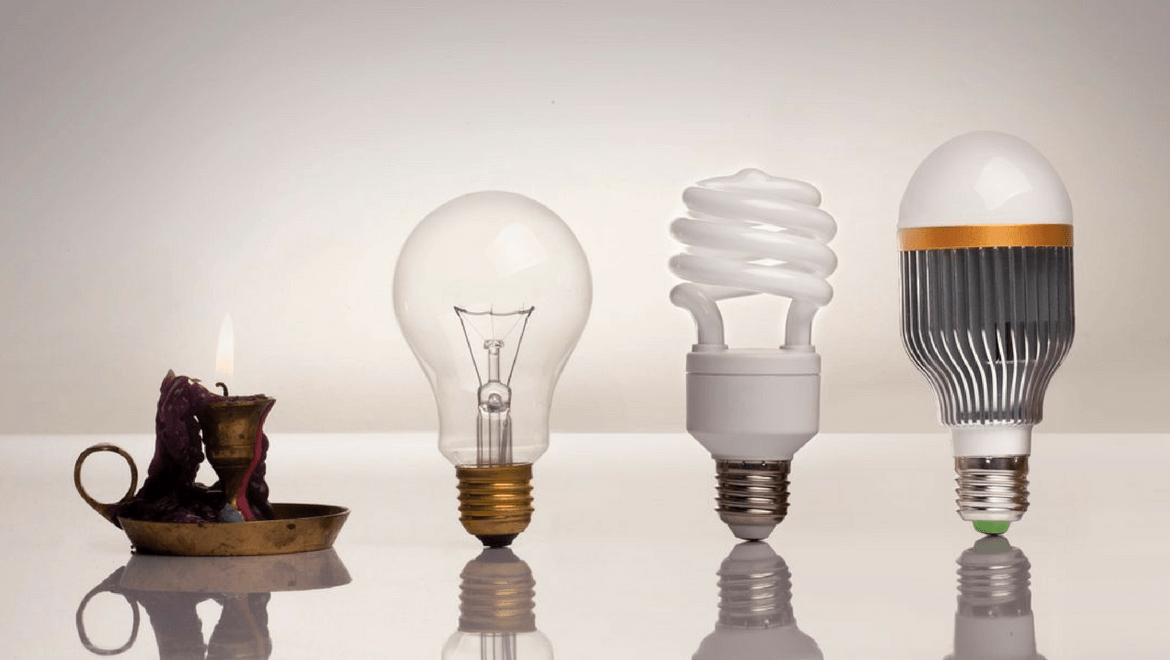 4 different types of bulbs