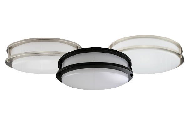 DOUBLE RING CEILING LUMINAIRE