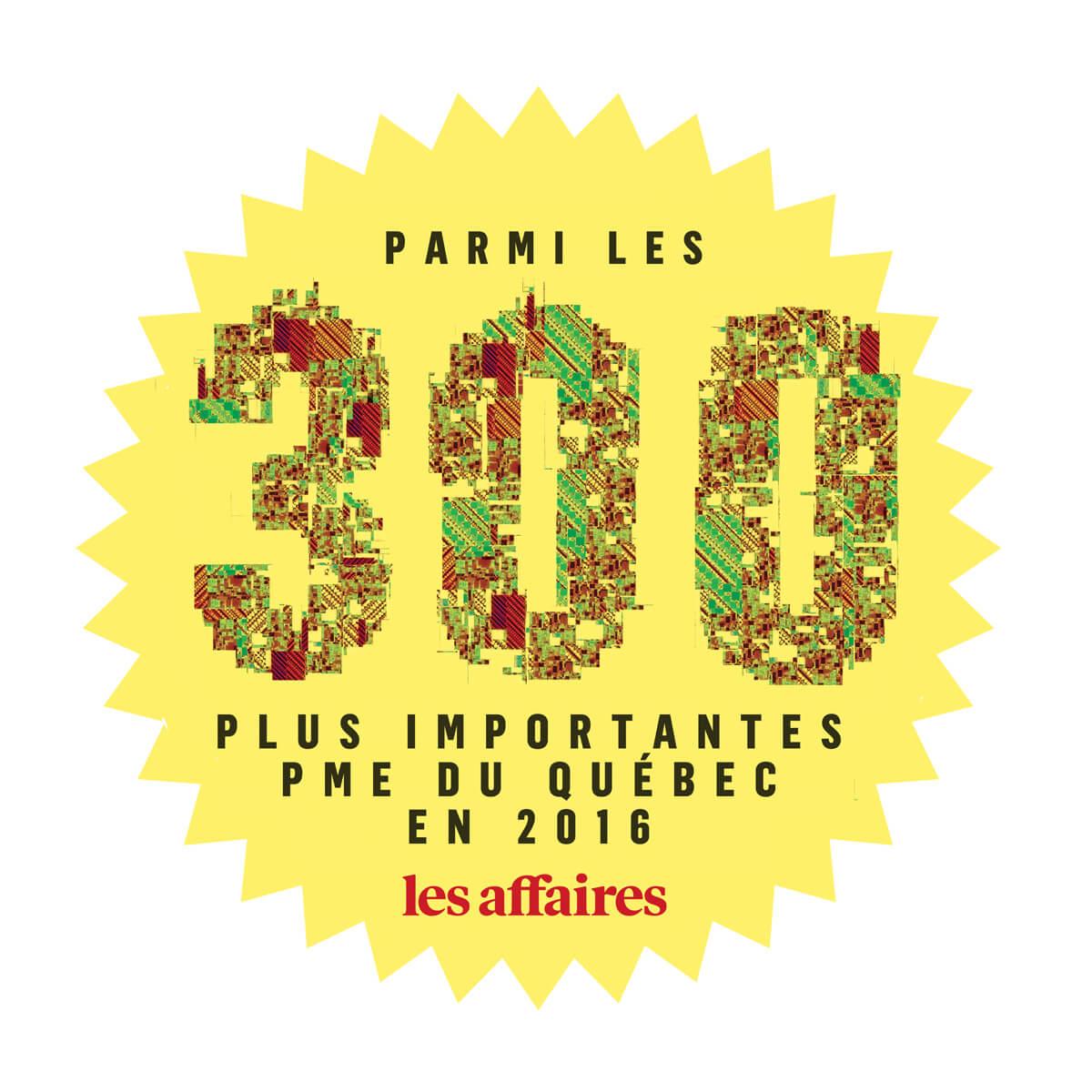 Top 300 Les Affaires