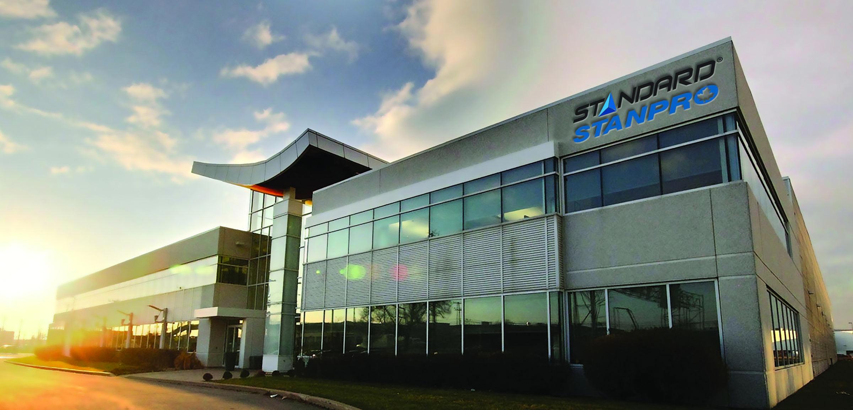 Bâtiment et façade extérieure de l'entreprise Stanpro