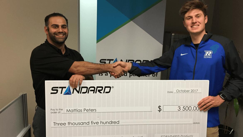 STANDARD 2017 Scholarship