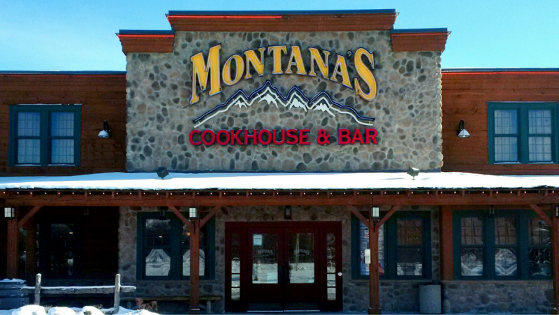 MONTANA'S RESTAURANT IN PETERBOROUGH