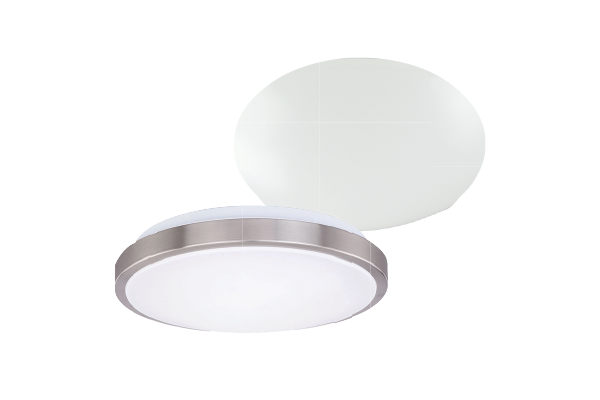 TRI-LEVEL CEILING LUMINAIRE