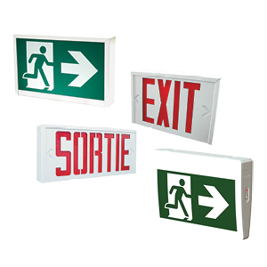 Evolution of emergency lighting, from exit signs to the running man