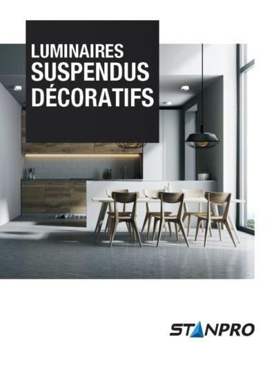 Luminaires suspendus décoratifs