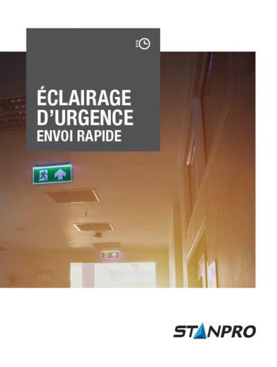 Éclairage d'urgence Envoi Rapide