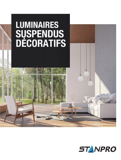 Brochure luminaire suspendus décoratifs
